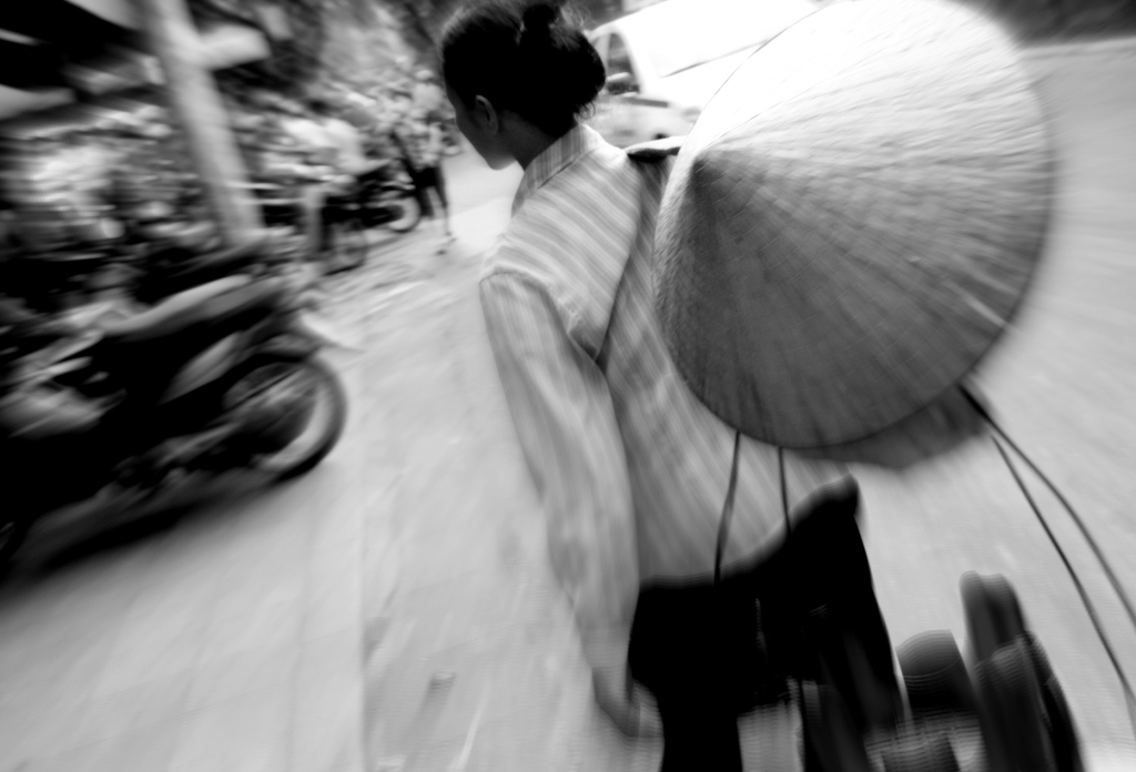 Business woman in Hanoi